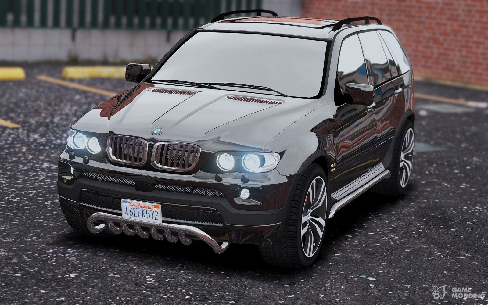 BMW x 5 E53 2005 Sport Package 11 for GTA 5