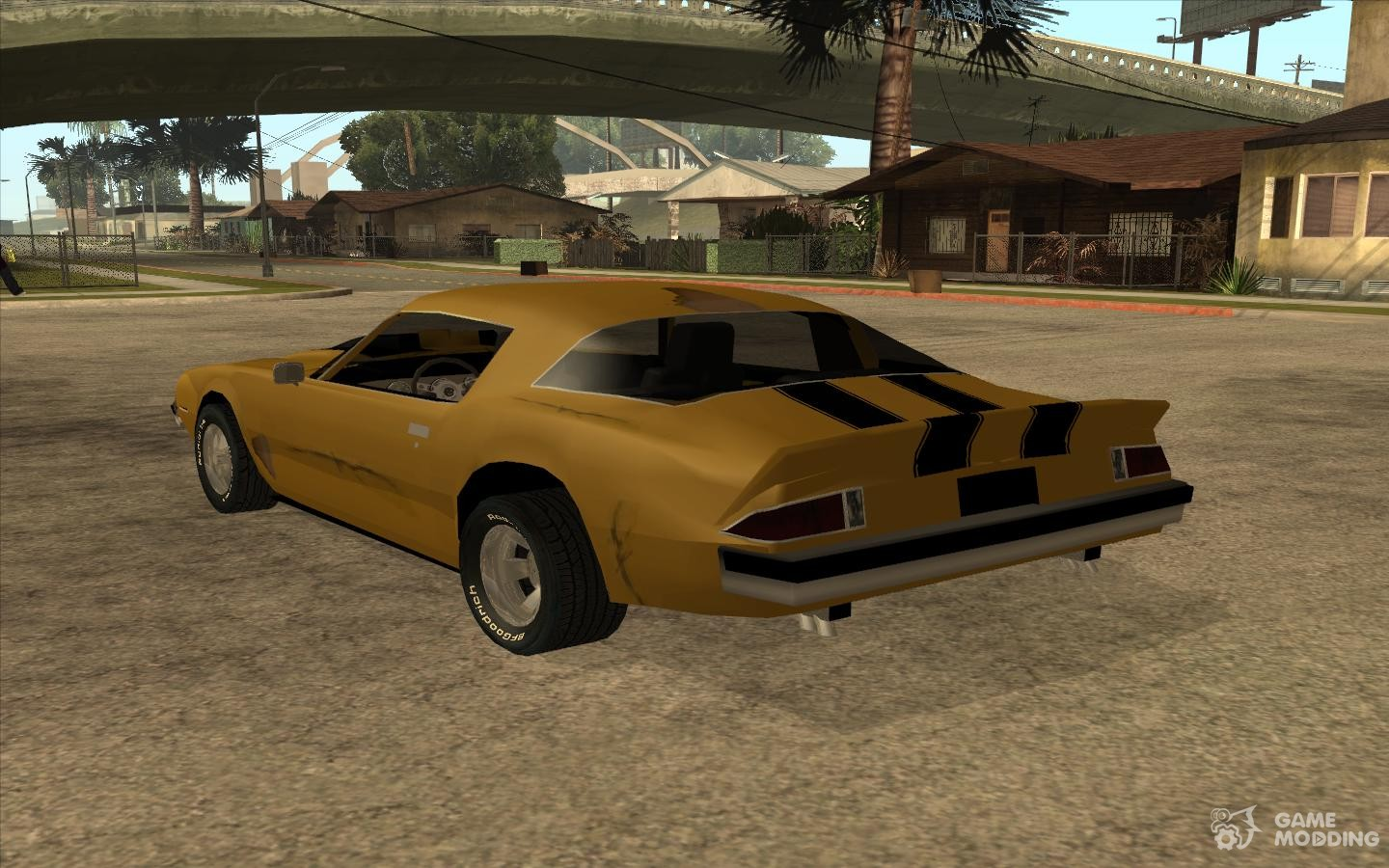 chevrolet camaro bumblebee for gta san andreas. Black Bedroom Furniture Sets. Home Design Ideas