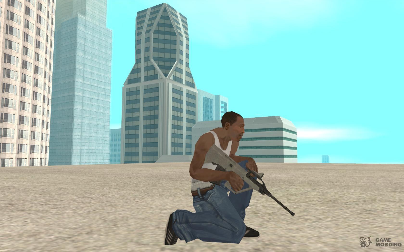 gta sa how to get good weapons