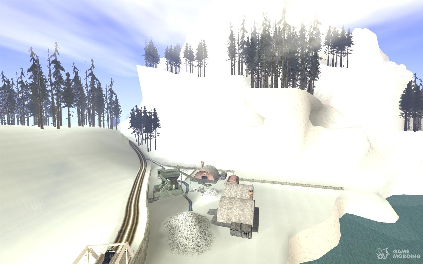 Скачать Зиму для GTA San Andreas