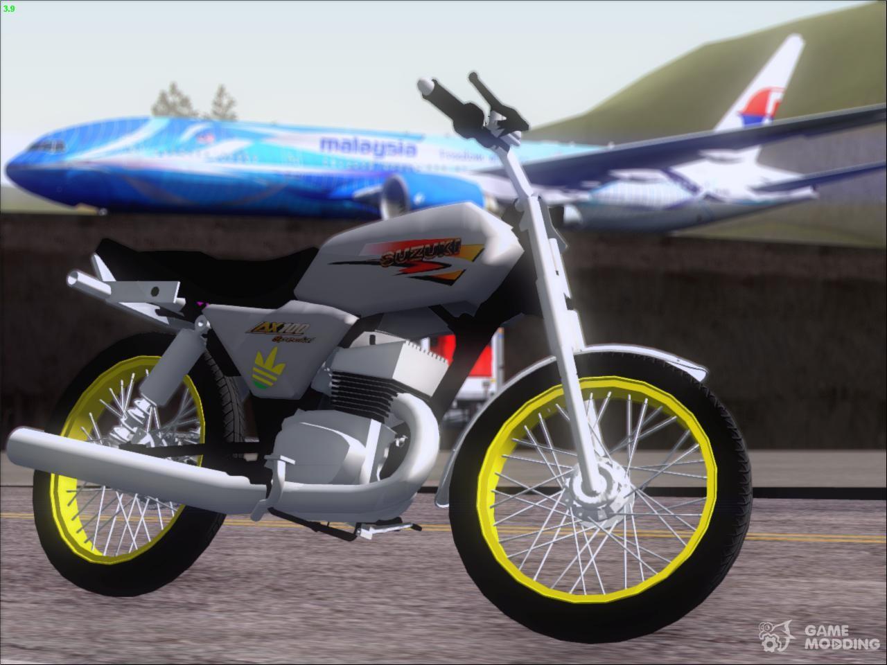 Fotos de motos ax 100 89