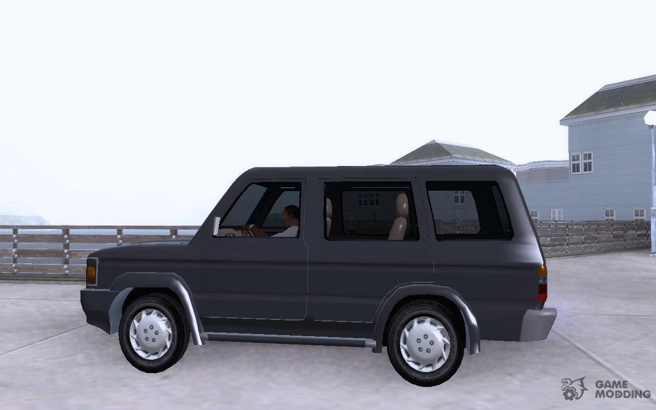 Toyota kijang grand extra image - Toyota Kijang Grand Extra For Gta San Andreas Left View