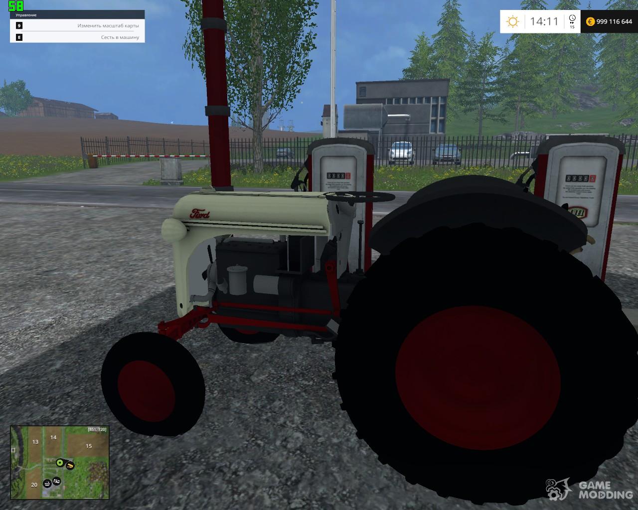 Ford 8N v1 0 for Farming Simulator 2015
