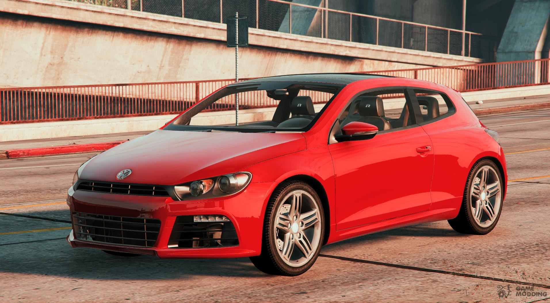 2011 volkswagen scirocco r iii typ 13 for gta 5. Black Bedroom Furniture Sets. Home Design Ideas