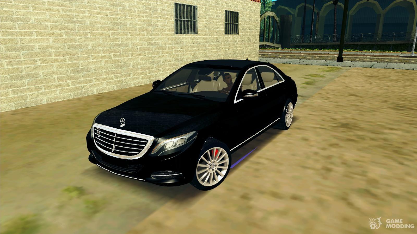 MercedesBenz для GTA San Andreas  GTAViceCityRU