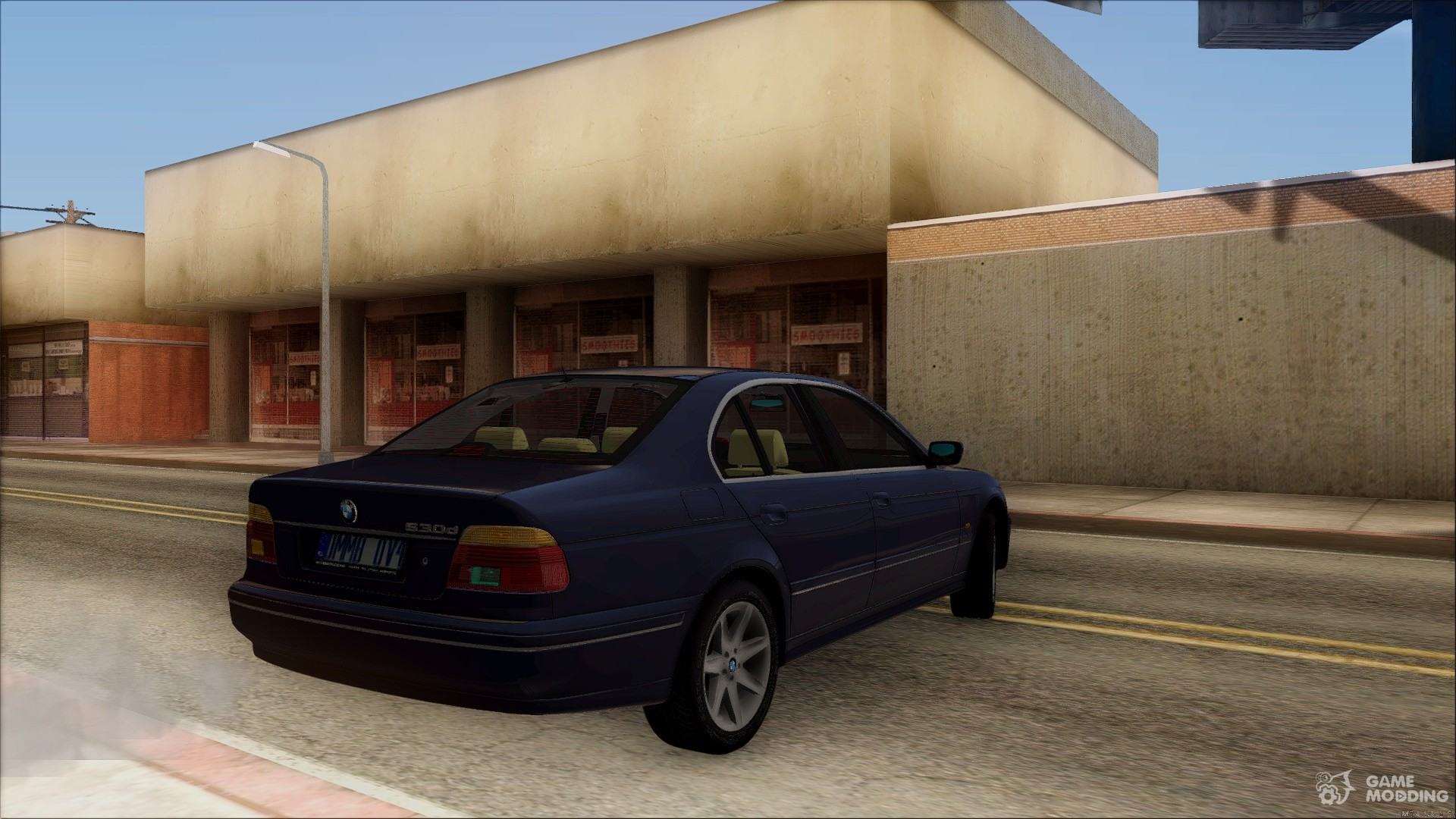 BMW E39 530 d-Stock 2001 for GTA San Andreas