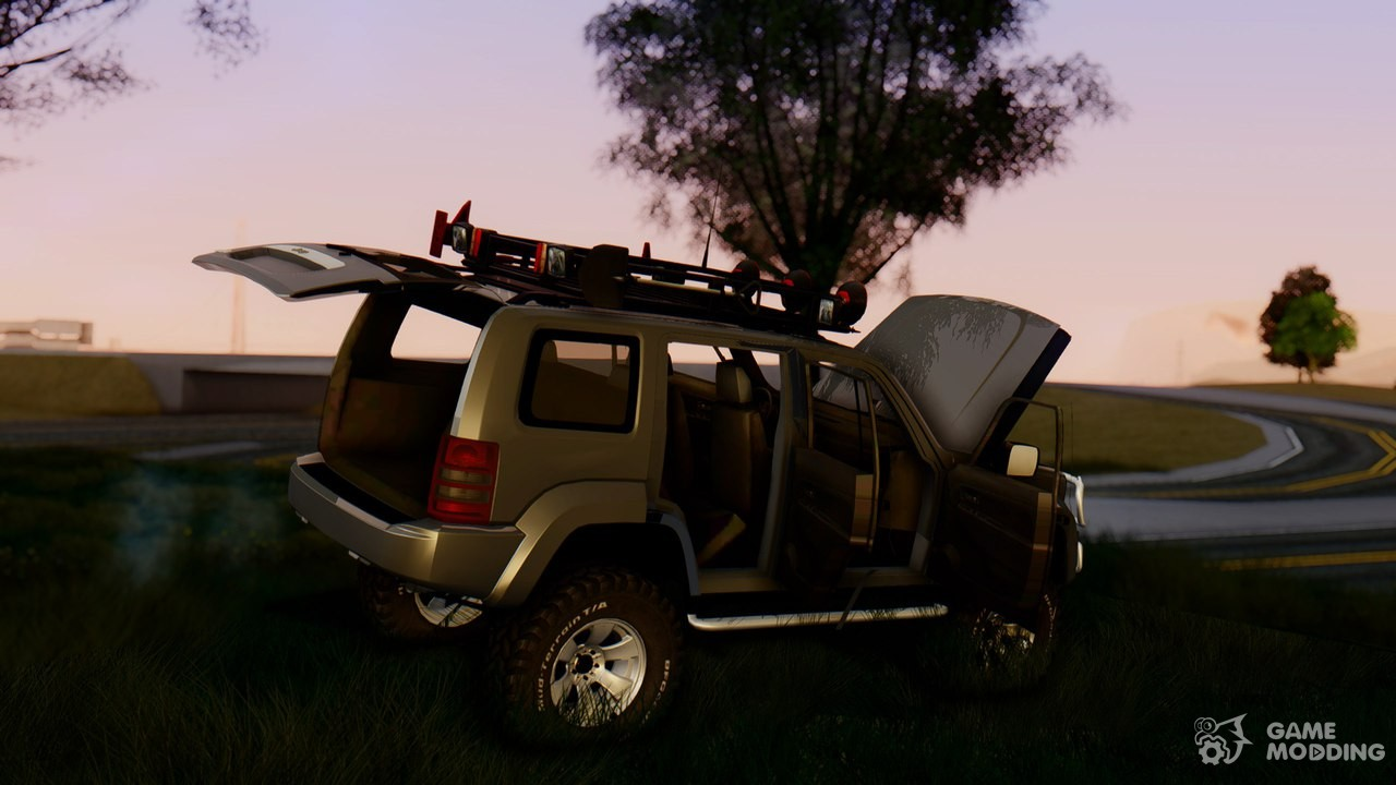 jeep liberty off road for gta san andreas. Black Bedroom Furniture Sets. Home Design Ideas