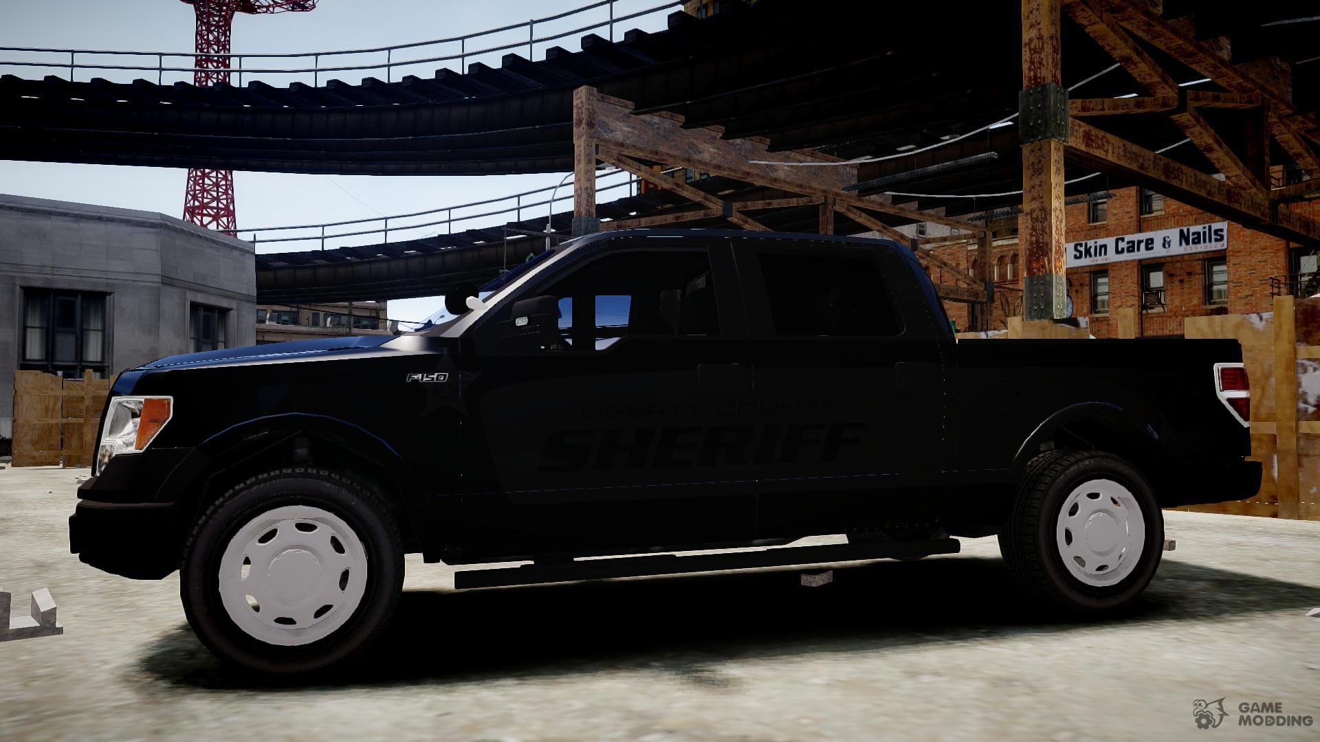 Ford f150 liberty county sheriff slicktop for gta 4 side view