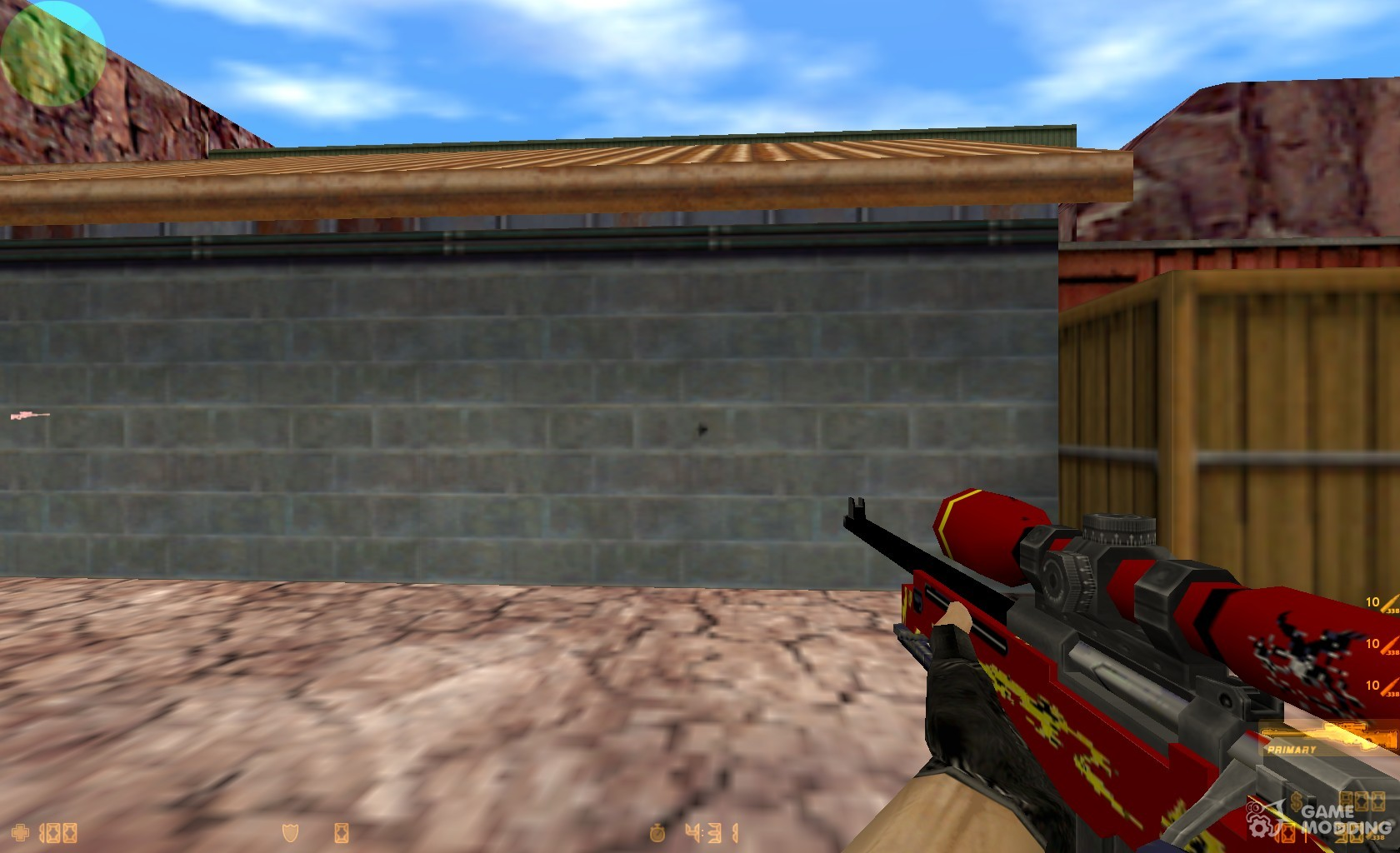 Red Dragon AWP for Counter-Strike 1.6