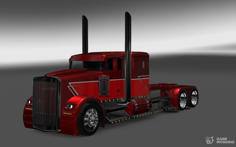 kenworth phantom for euro truck simulator 2. Black Bedroom Furniture Sets. Home Design Ideas