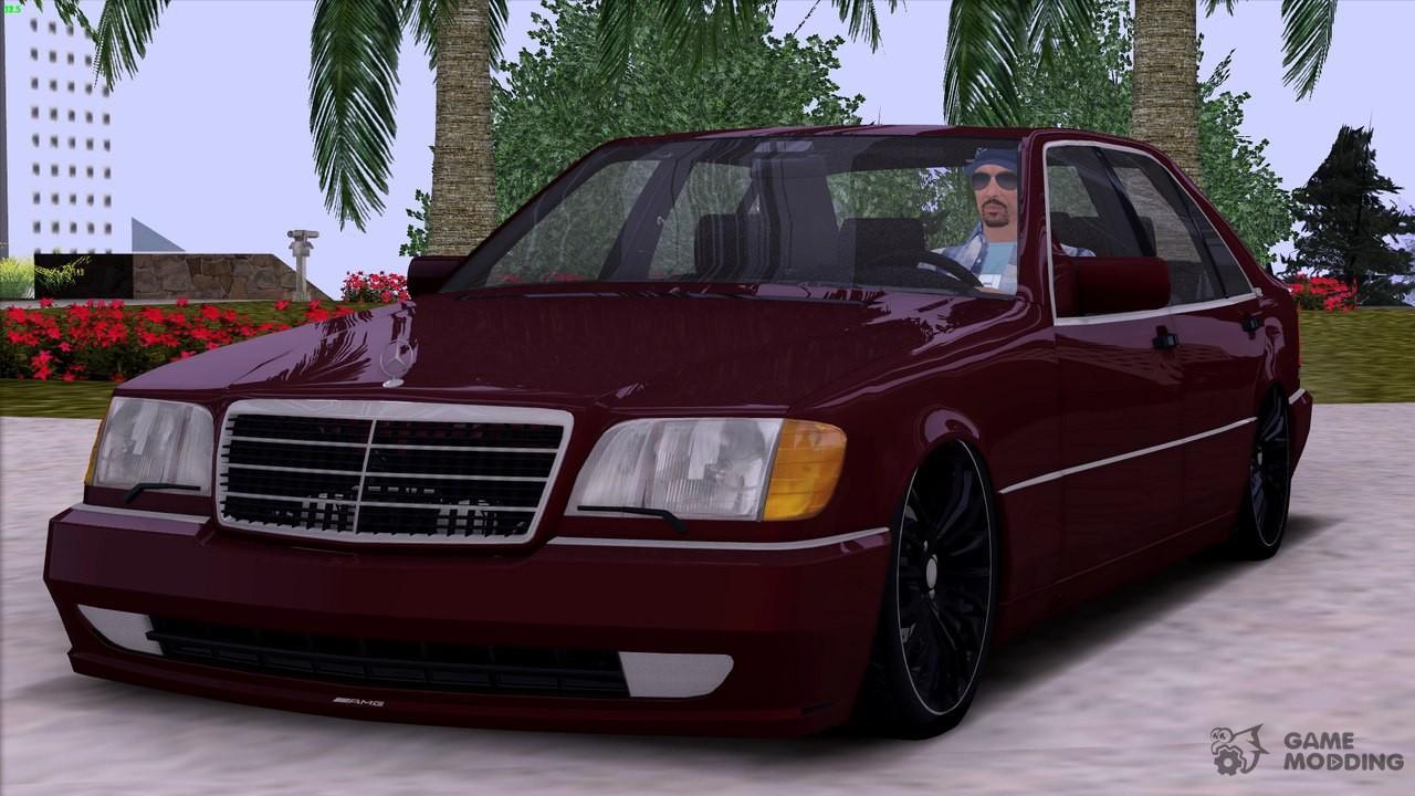 Mercedes benz s600 v12 w140 full 3d for gta san andreas for Mercedes benz s 600 v12
