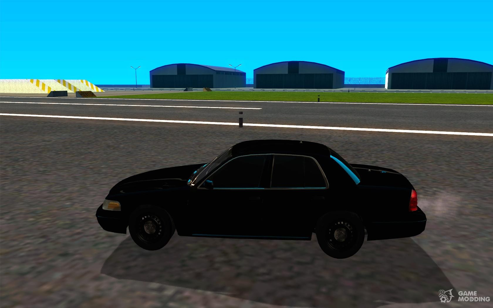 Ford Crown Victoria Fbi For Gta San Andreas Left View
