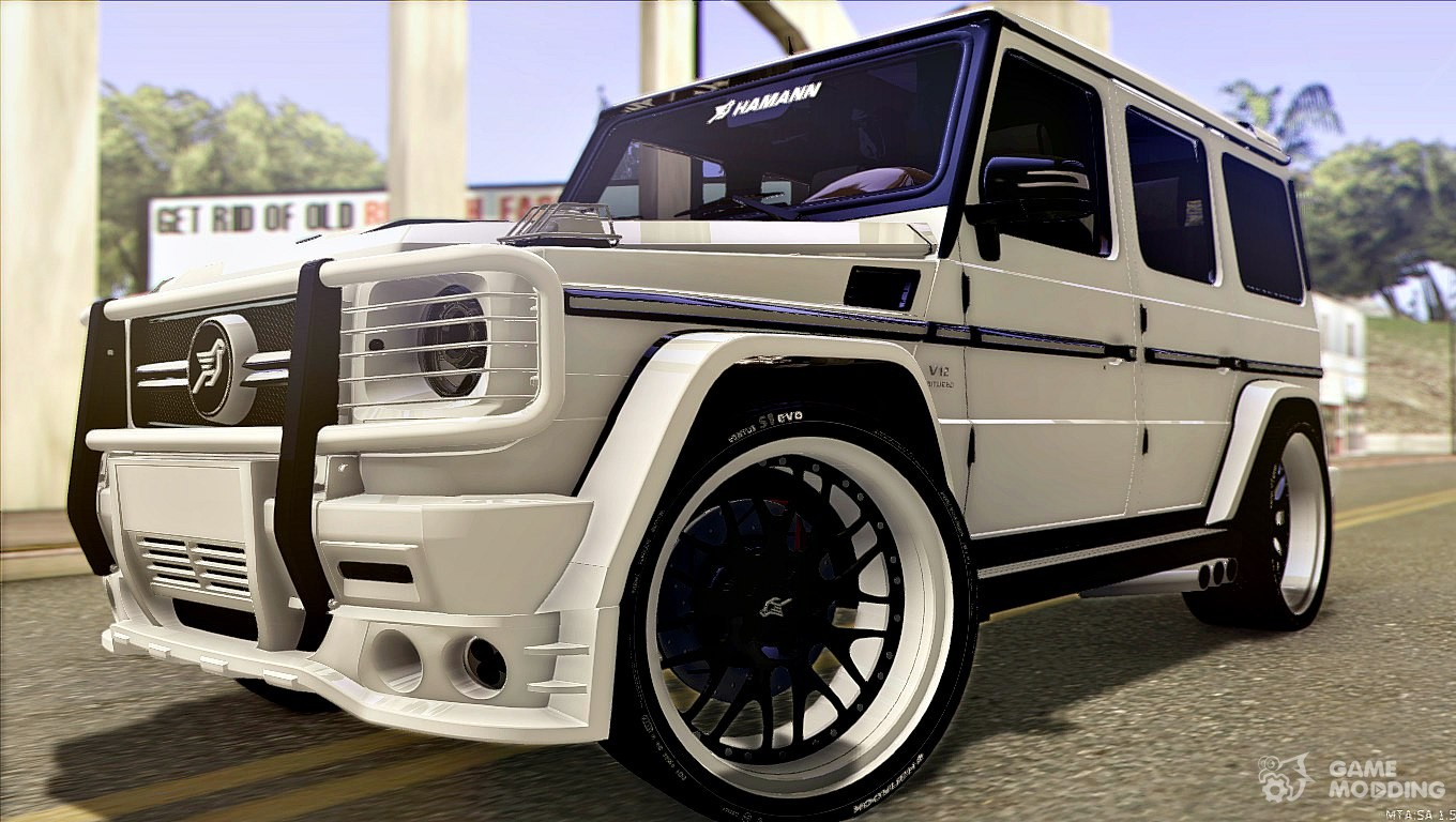 Mercedes benz g65 hamann tuning e design for gta san andreas for Mercedes benz g65