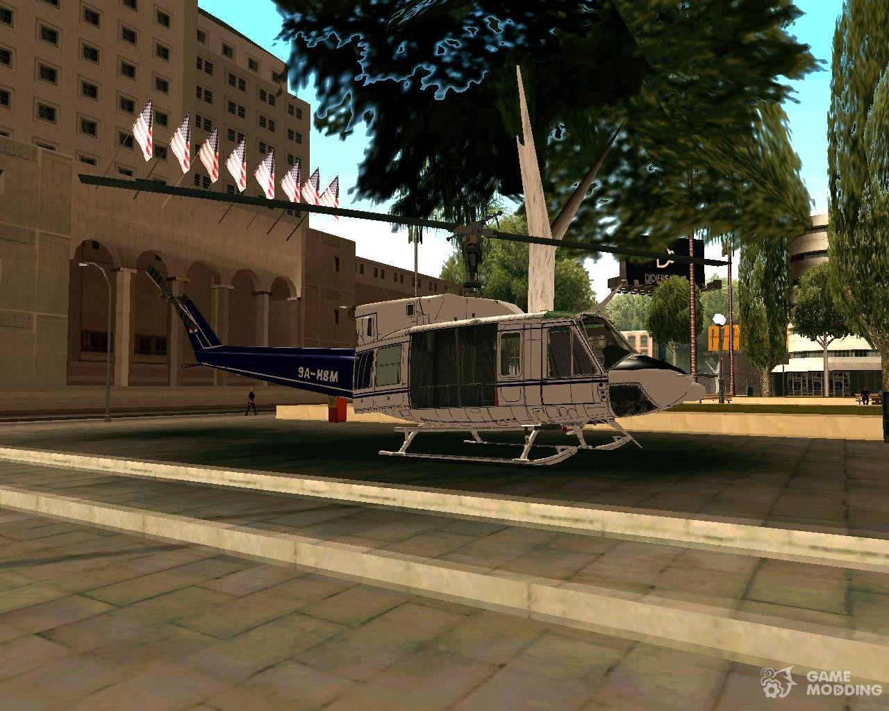 Обои AB-212, Agusta-Bell, транспортный вертолёт. Авиация foto 18