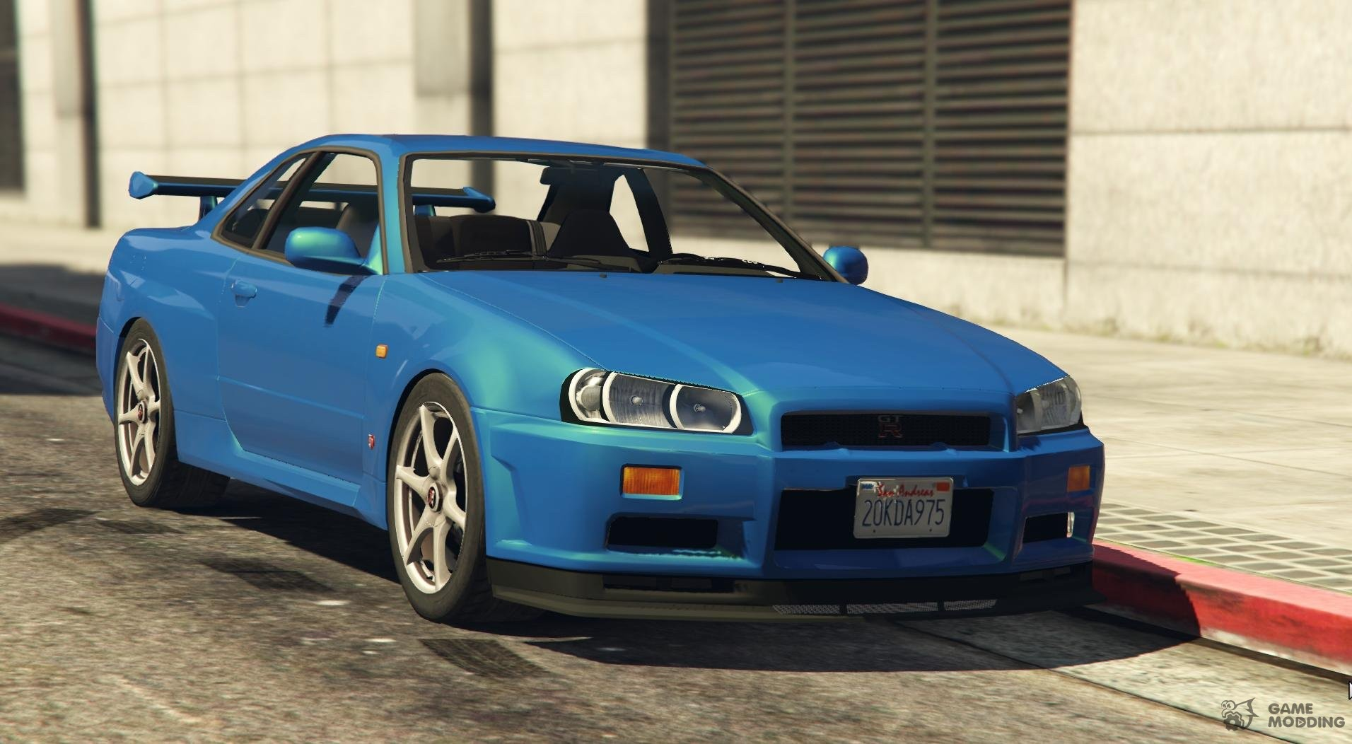 Nissan Skyline R34 Gt R For Gta 5