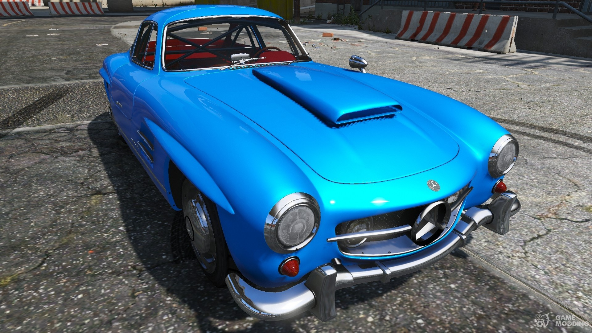 1954 mercedes benz 300 sl gullwing for gta 5. Black Bedroom Furniture Sets. Home Design Ideas