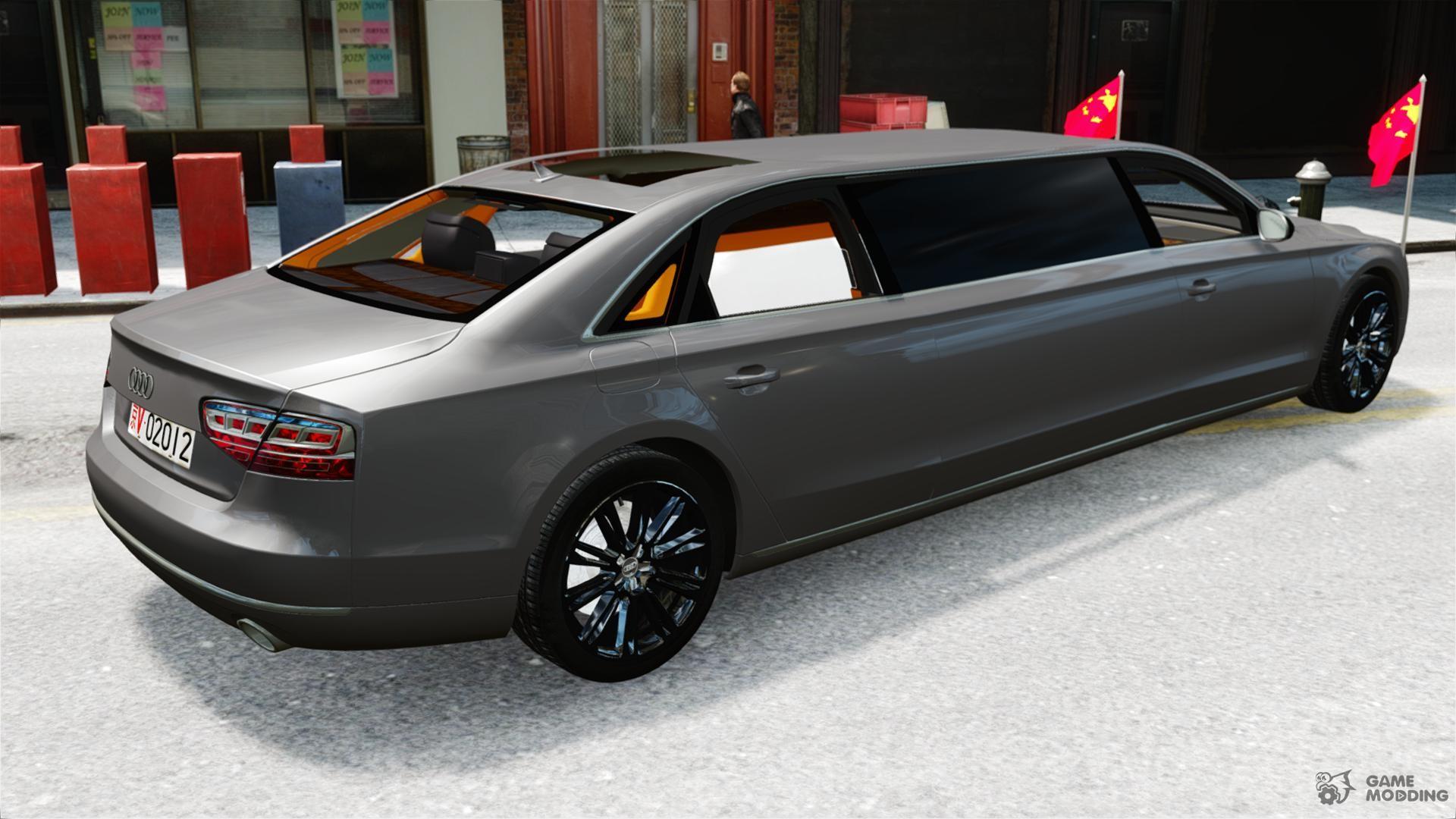 audi a8 limo for gta 4. Black Bedroom Furniture Sets. Home Design Ideas