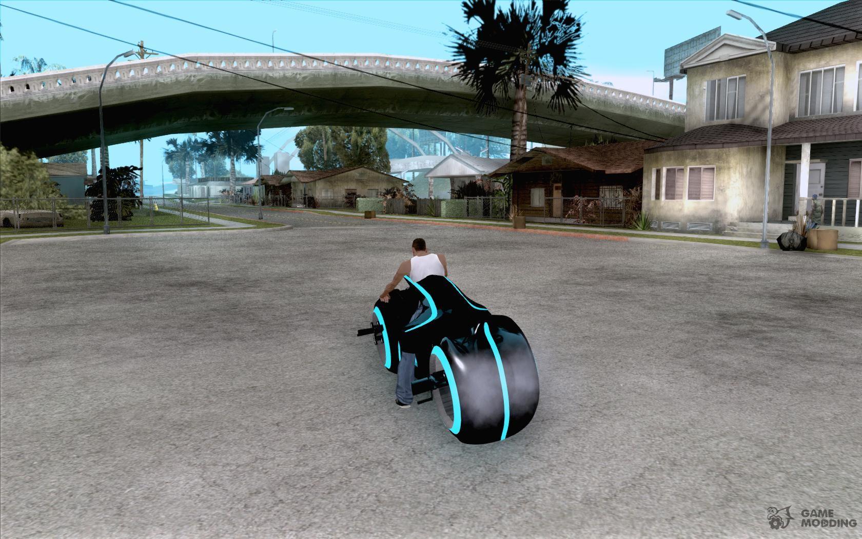 Tron Bike (Version 3, Final) for GTA San Andreas
