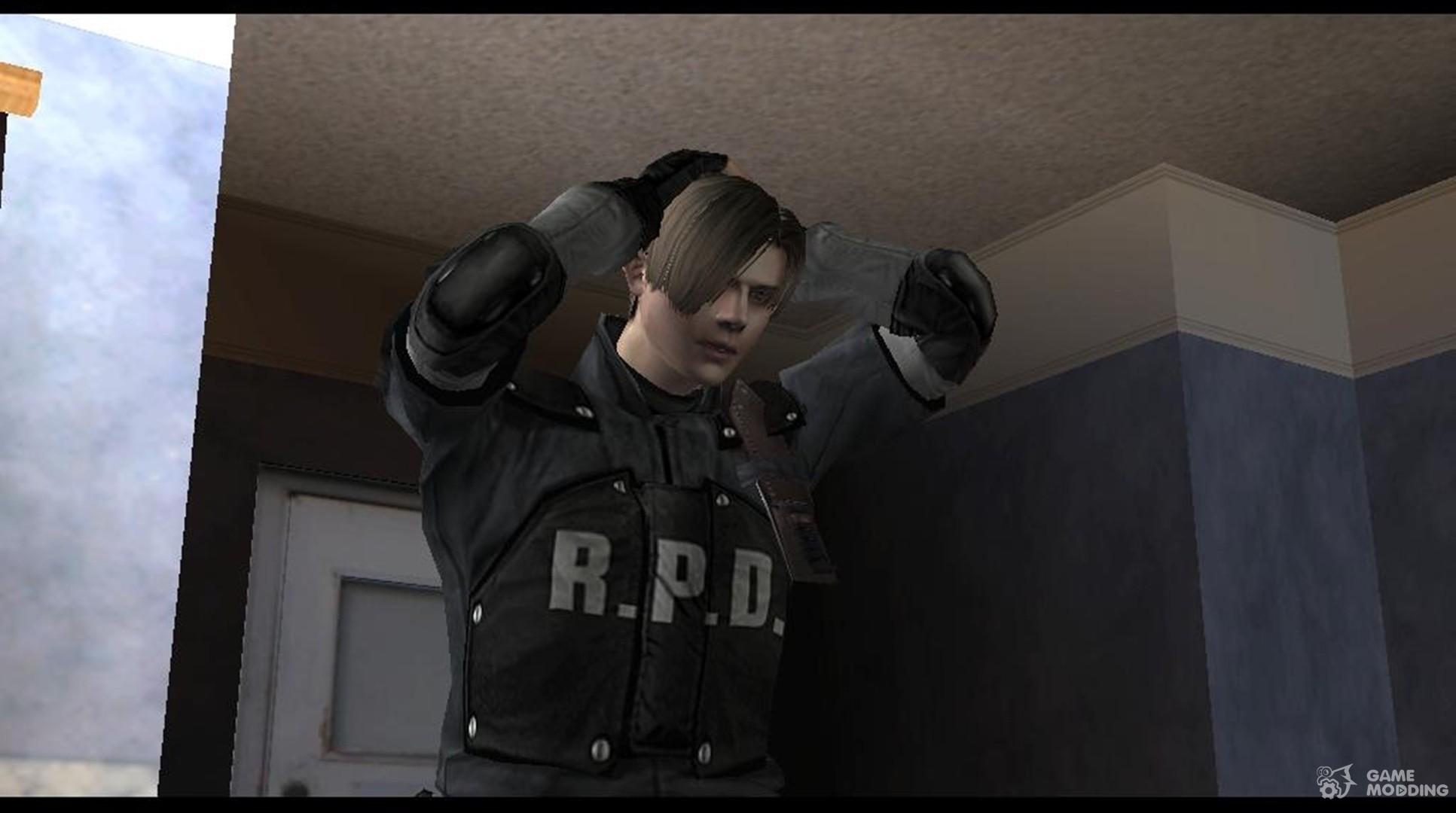 Leon R  P  D Resident Evil for GTA San Andreas