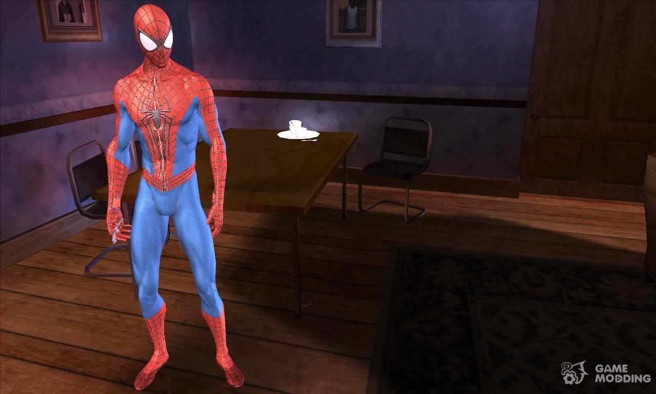 Skin Spider Man HQ for GTA San Andreas