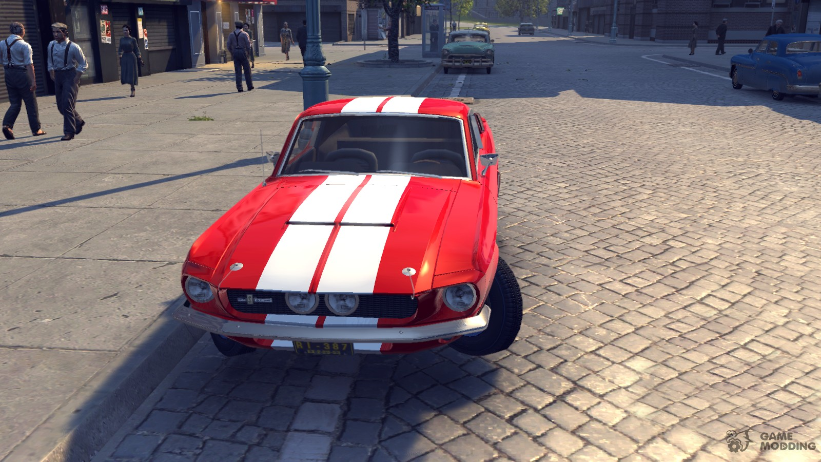 1967 shelby gt500 v1 0 for mafia ii. Black Bedroom Furniture Sets. Home Design Ideas