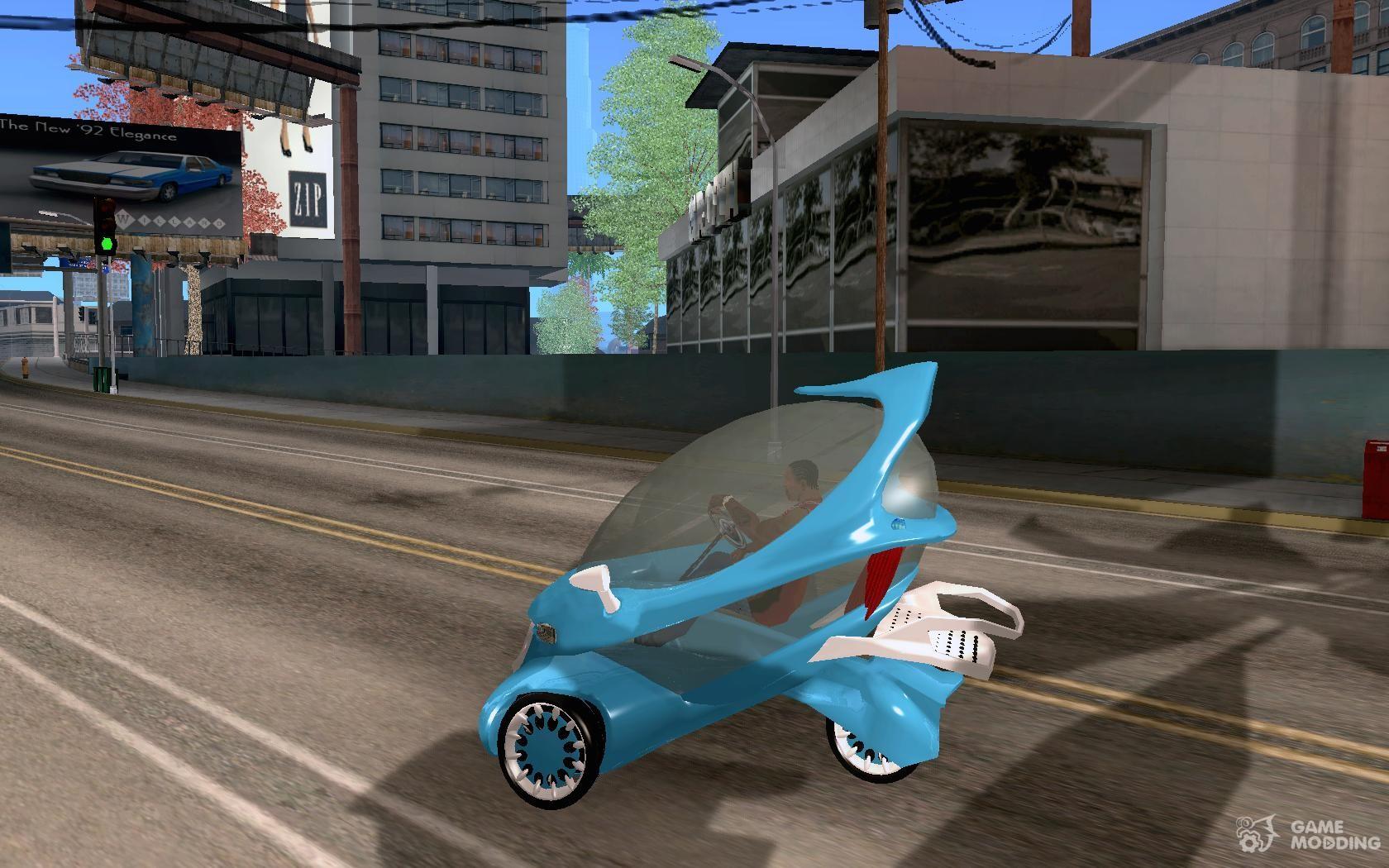 Concept Car For Gta San Andreas