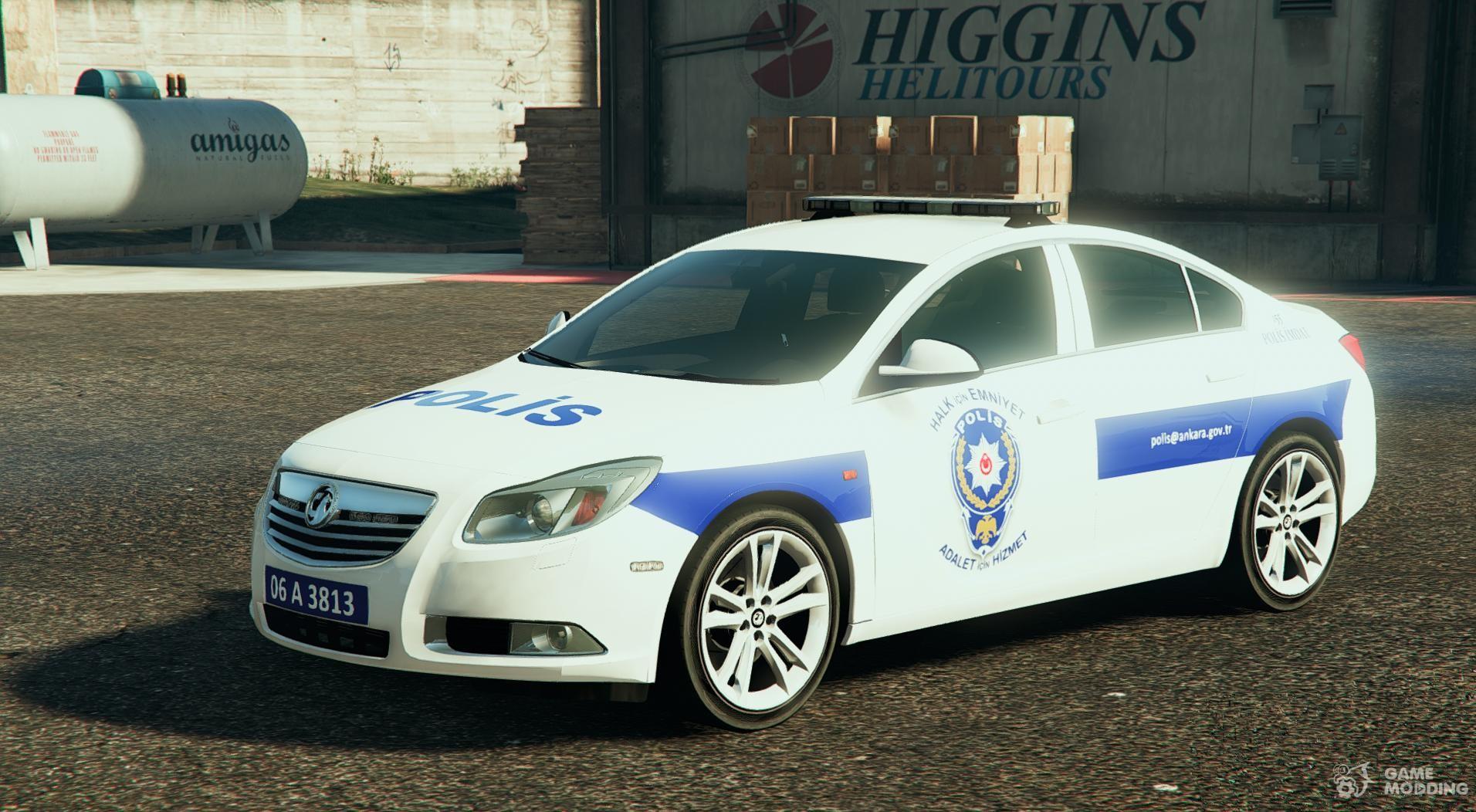 opel insignia türk polisi for gta 5