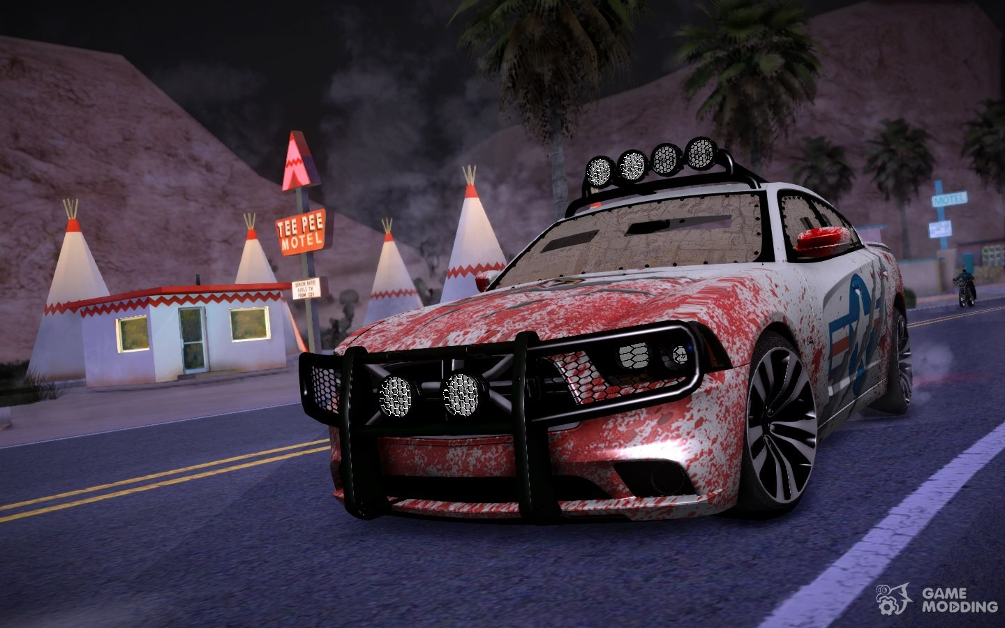 Dodge Charger Srt8 2012 Anti Zombie For Gta San Andreas