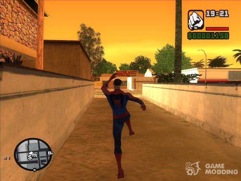 скачать мод на Spider Man для Gta San Andreas - фото 9