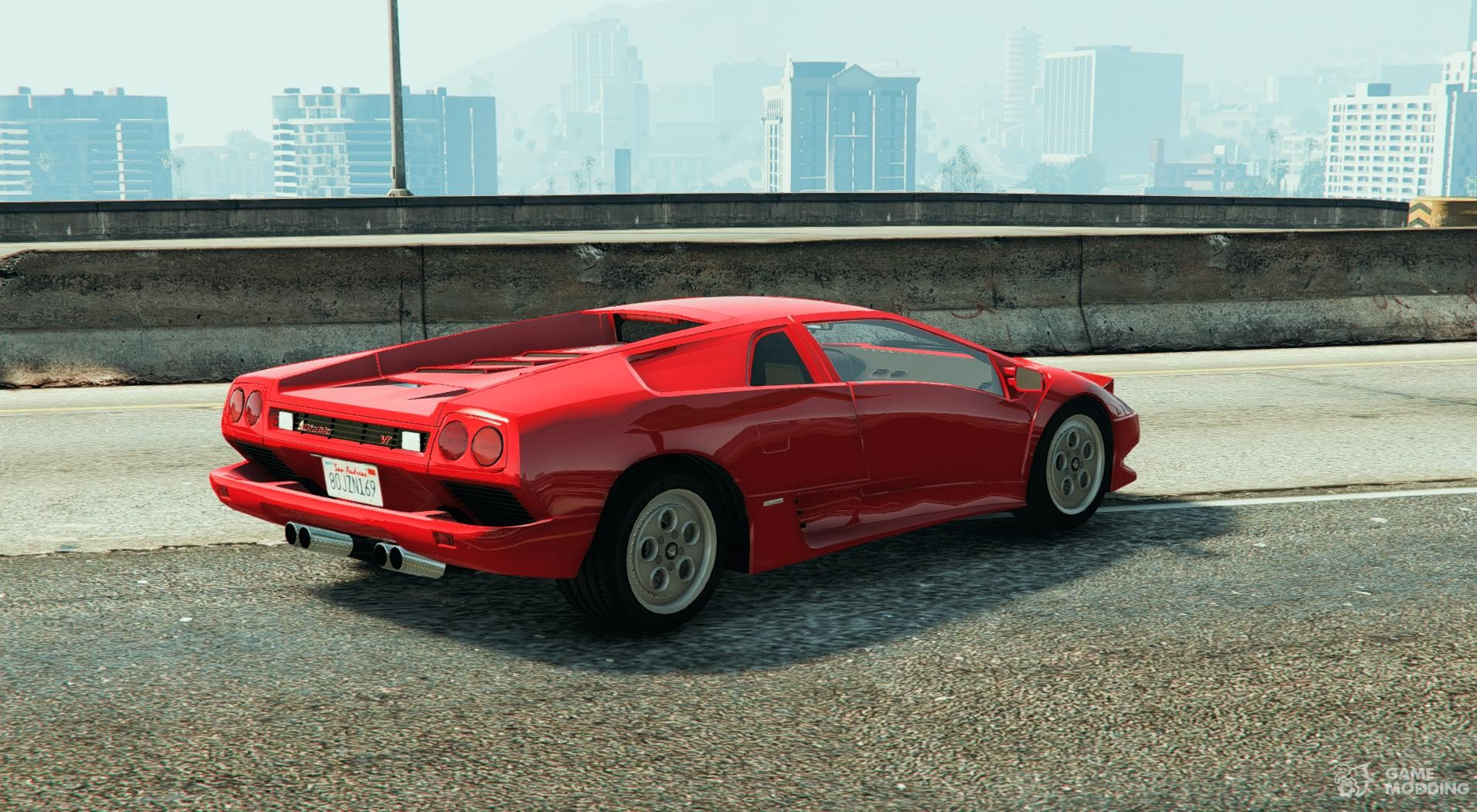 Lamborghini Diablo Vt 1994 For Gta 5