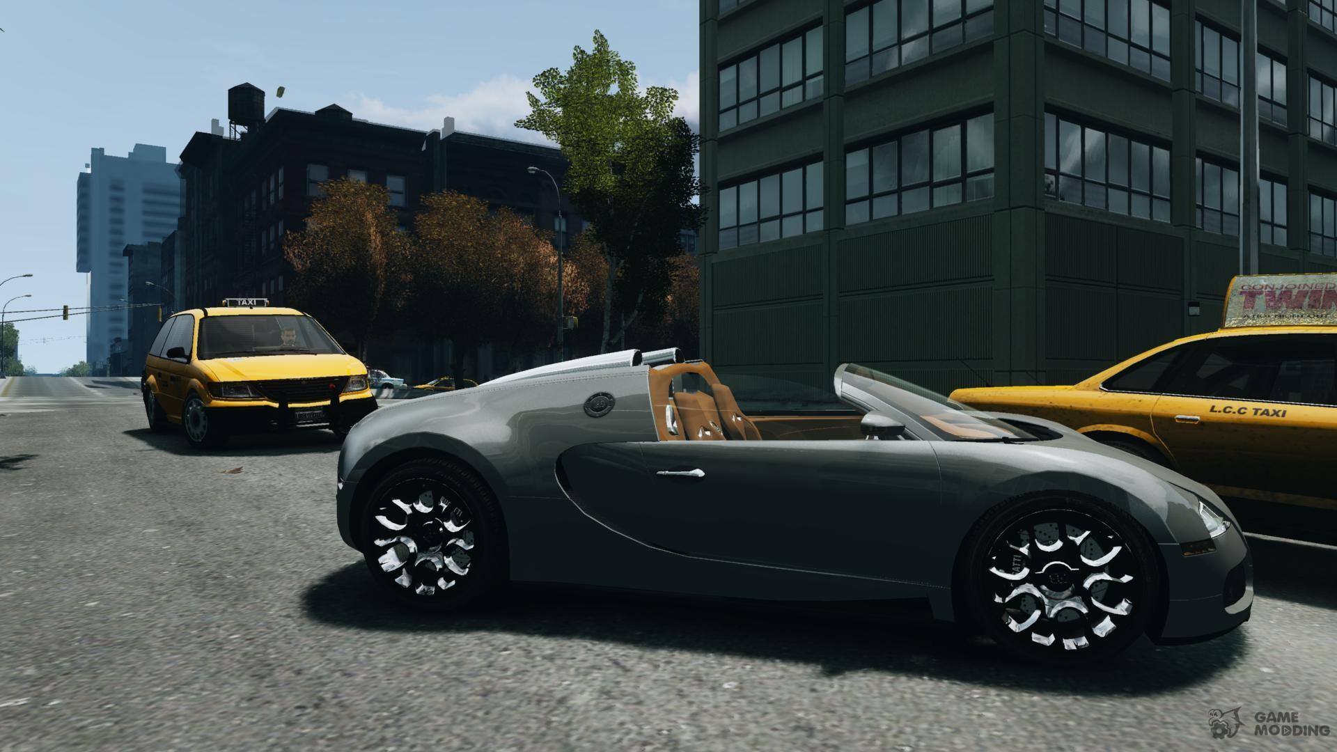 bugatti veyron grand sport epm 2009 for gta 4. Black Bedroom Furniture Sets. Home Design Ideas