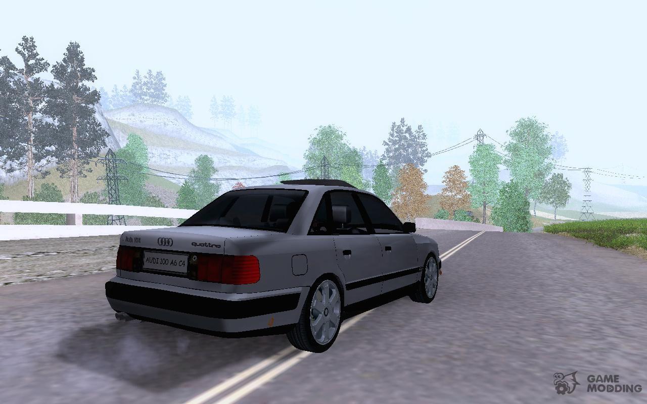 Audi 100 C4 2 8 V6 Quattro For Gta San Andreas