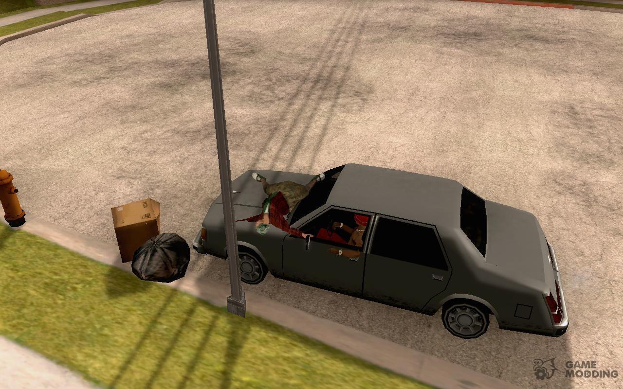 Как сделать машину для гта сан 124
