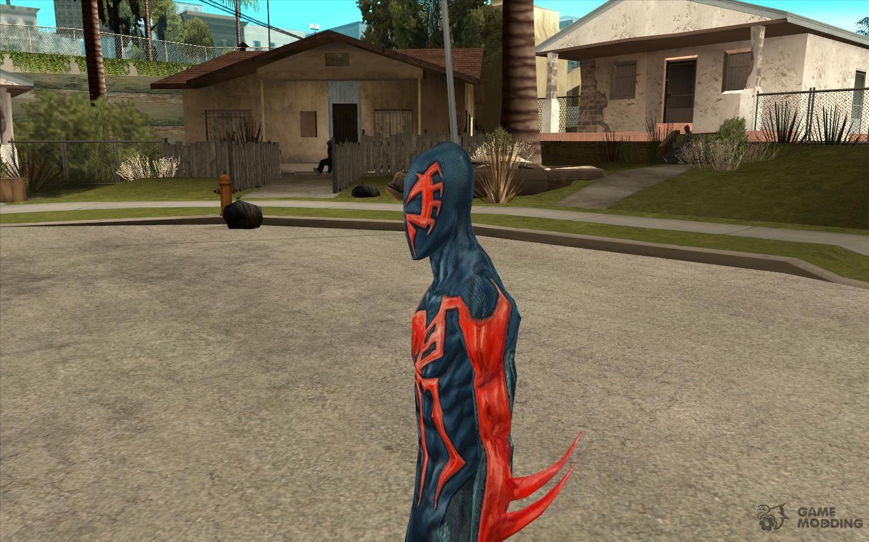 Мод Человек Паук для ГТА Сан Андреас