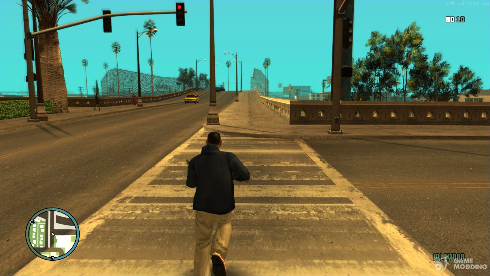 GTA IV Hud Mod (v  1 3) for GTA San Andreas