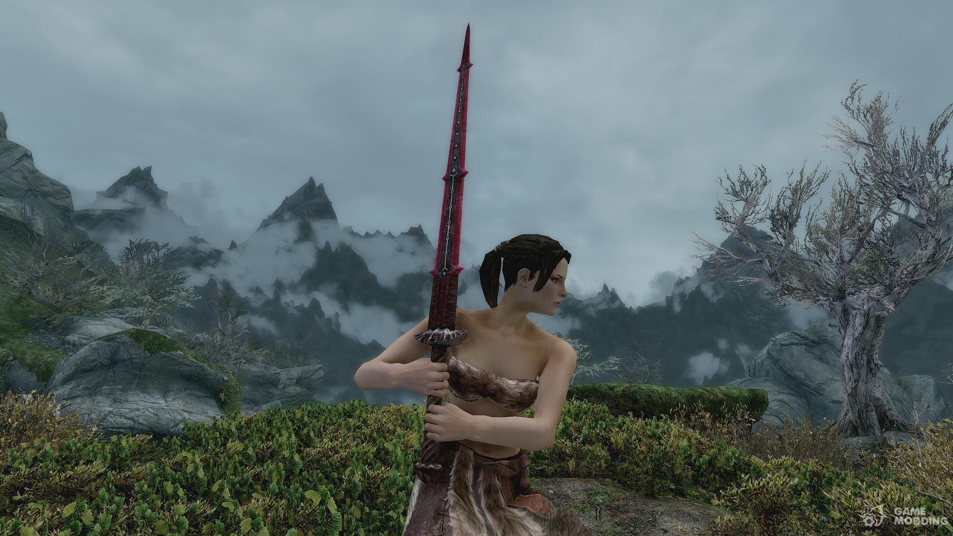 Skyrim bloodskal blade enchantment mod minecraft 1.12.2