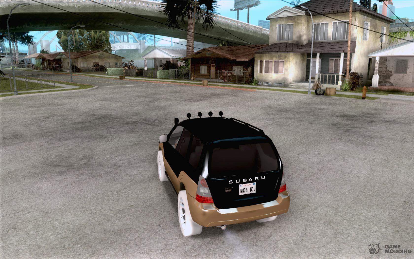 Subaru forester cross sport 2005 for gta san andreas subaru forester cross sport 2005 for gta san andreas rear left view vanachro Choice Image