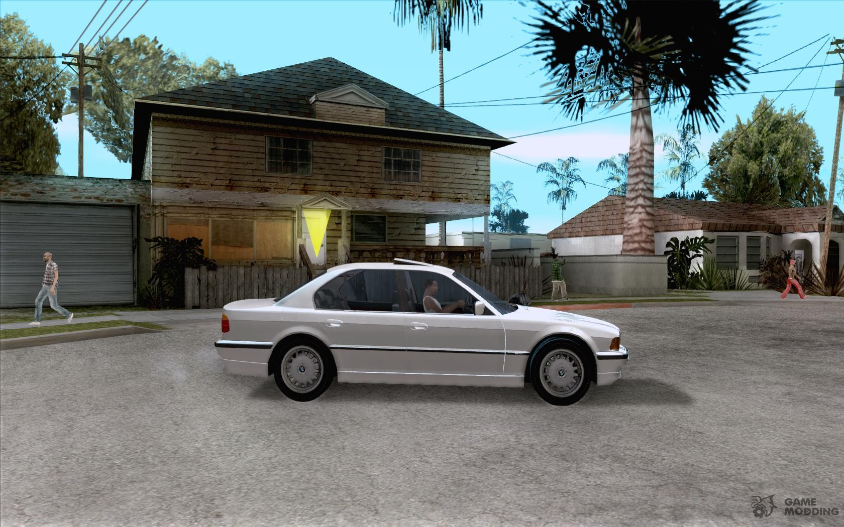 BMW 740I E38 RUS for GTA San Andreas