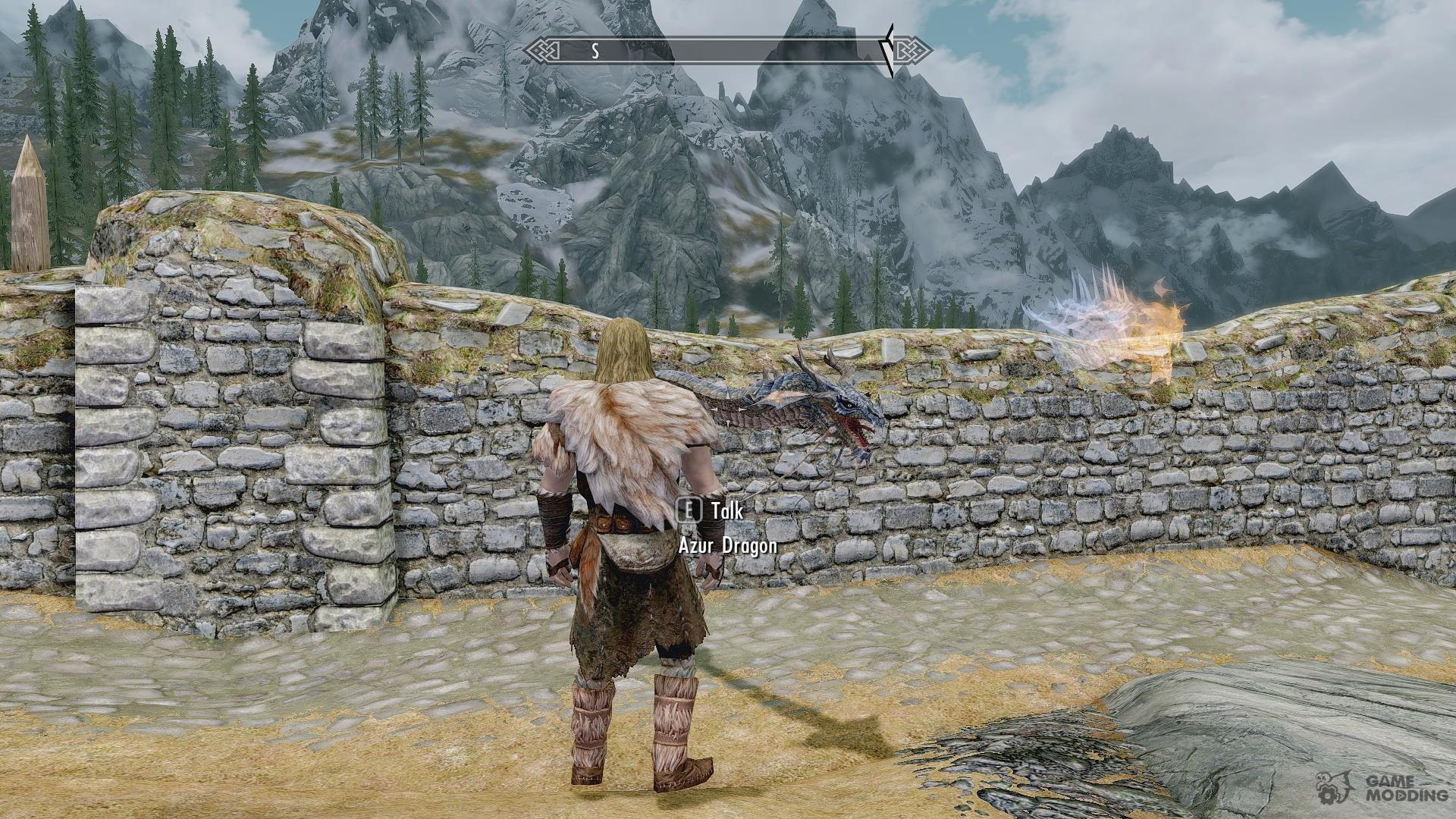 Summon mini Dragons - Mounts and Followers for TES V: Skyrim