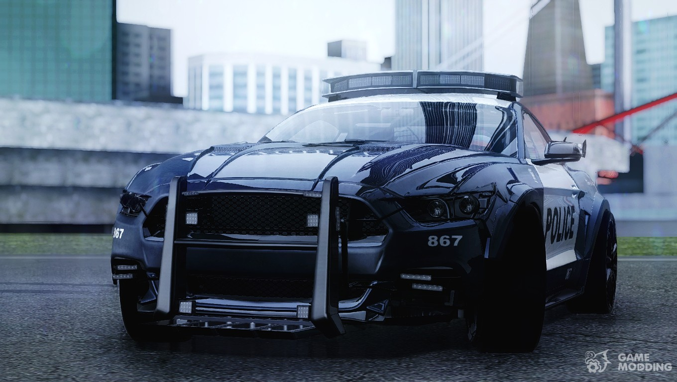 Ford Mustang GT 2015 ' Barricade ' Transformers 5 for GTA ...
