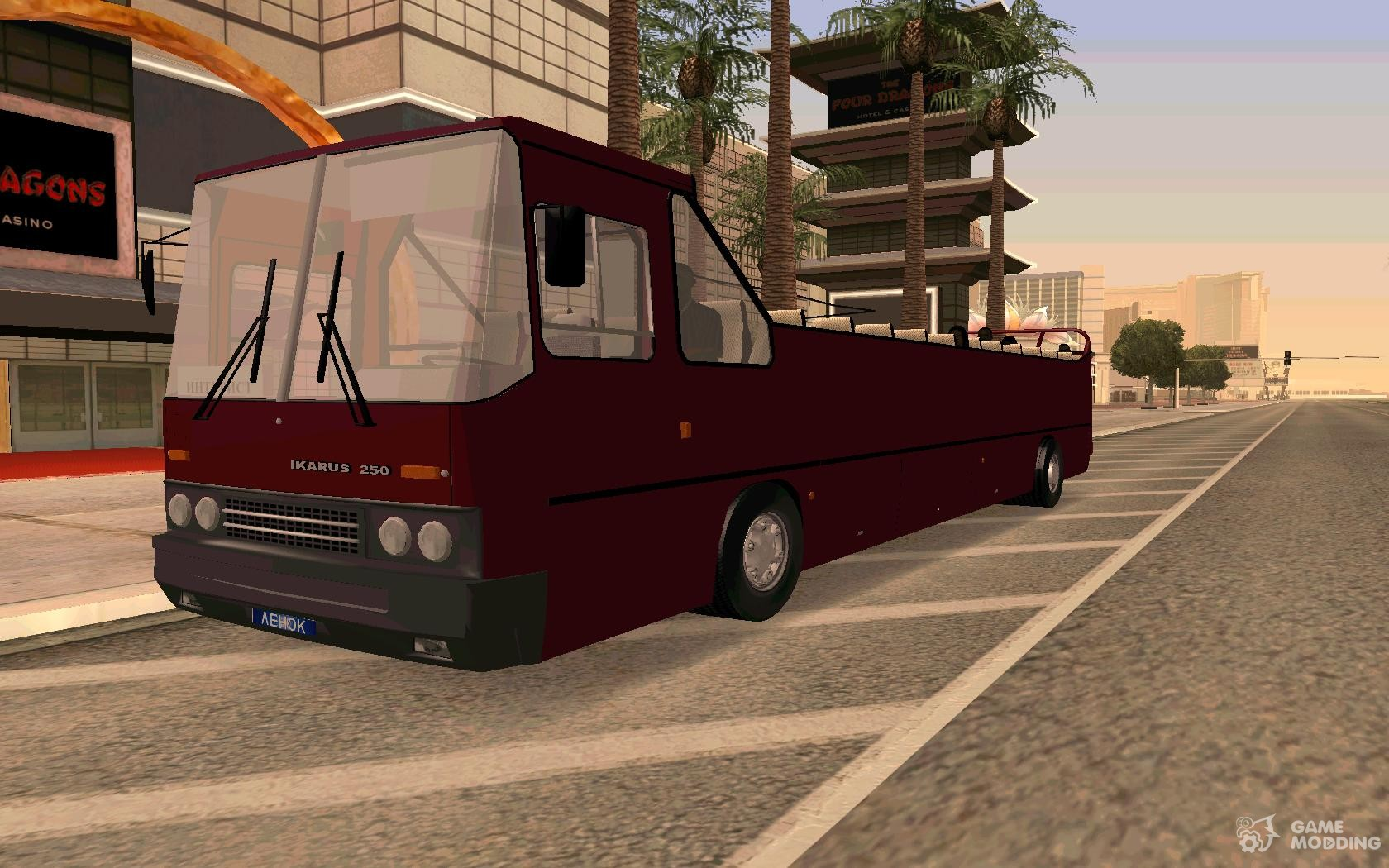 Ikarus 250 convertible for gta san andreas Ikarus