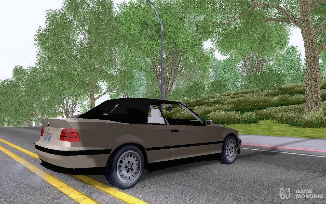 bmw 325i e36 convertible for gta san andreas. Black Bedroom Furniture Sets. Home Design Ideas