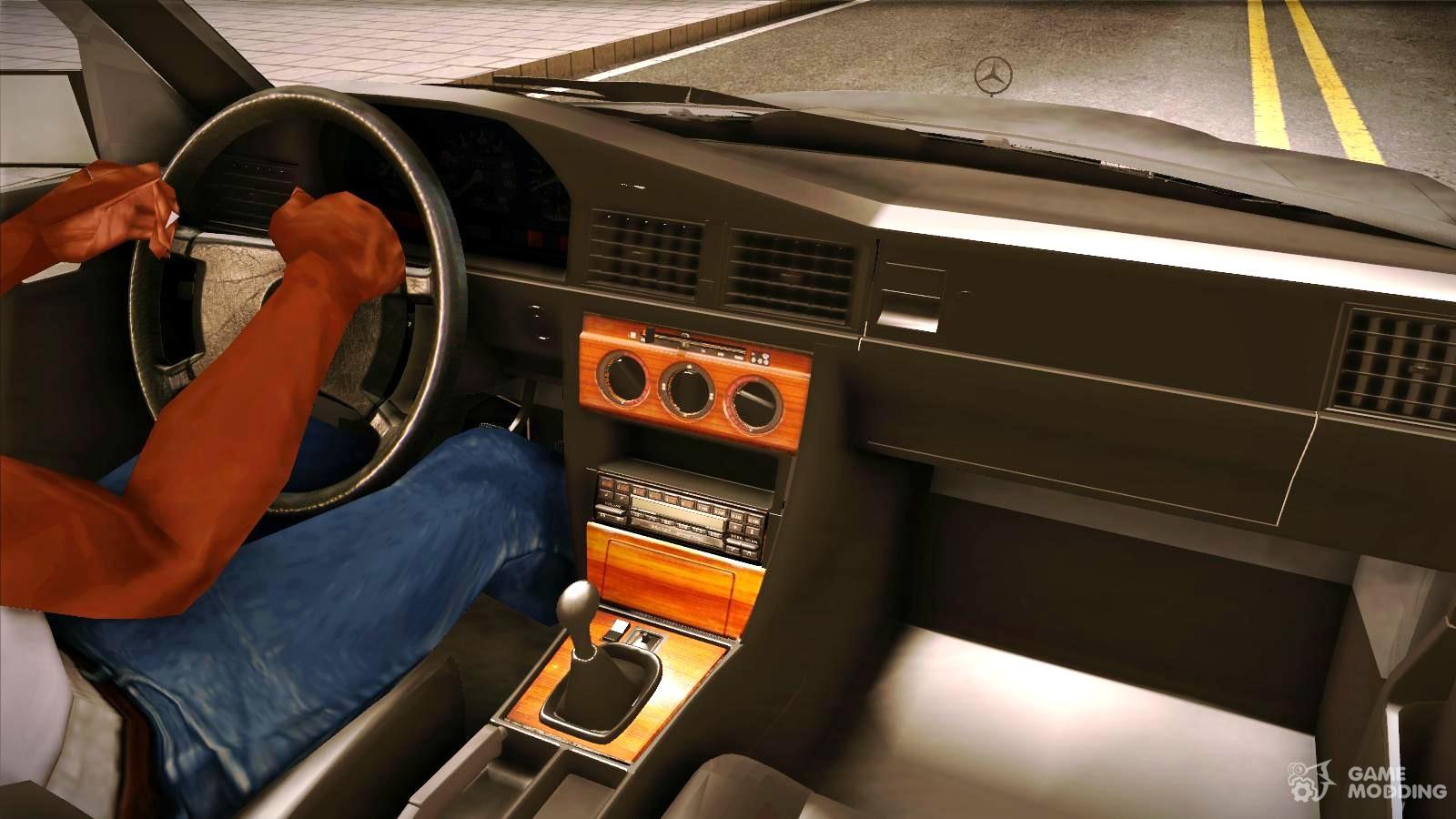Mercedes Benz 190e 3 2 Amg For Gta San Andreas