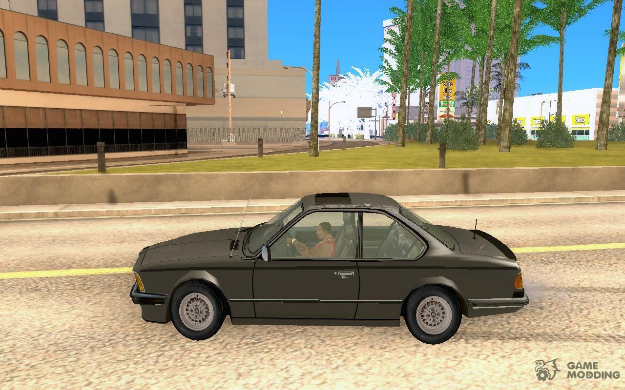El Bmw M6 635 Csi E24 Para Gta San Andreas