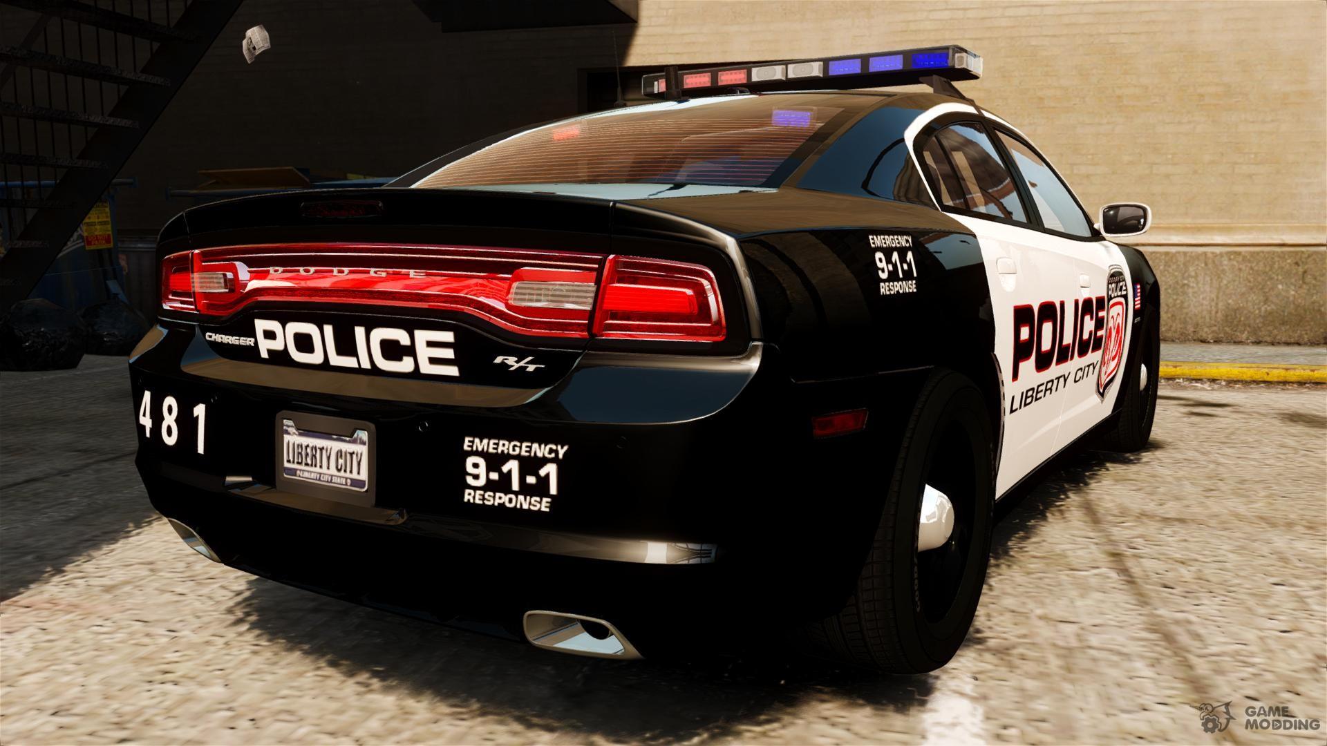 dodge charger rt max police 2011 els for gta 4. Black Bedroom Furniture Sets. Home Design Ideas