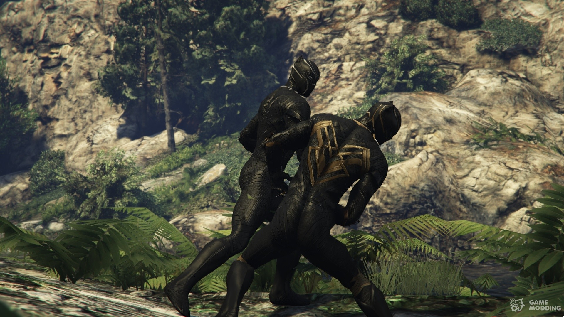 gta v black panther mod