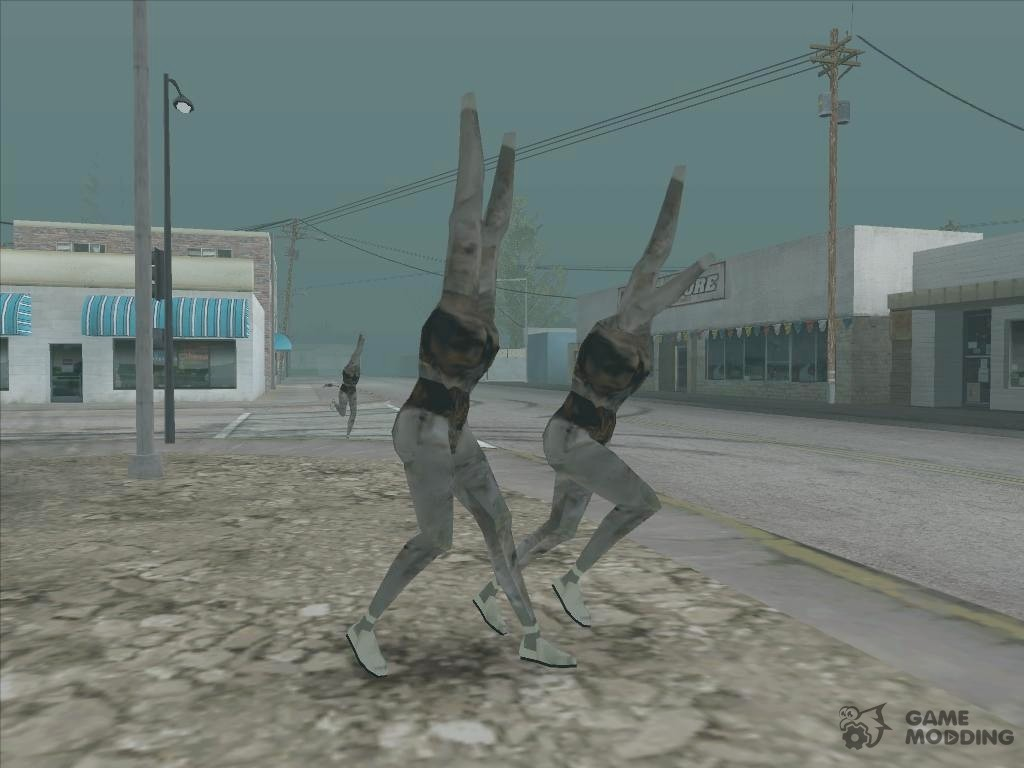Silent Hill for GTA San Andreas