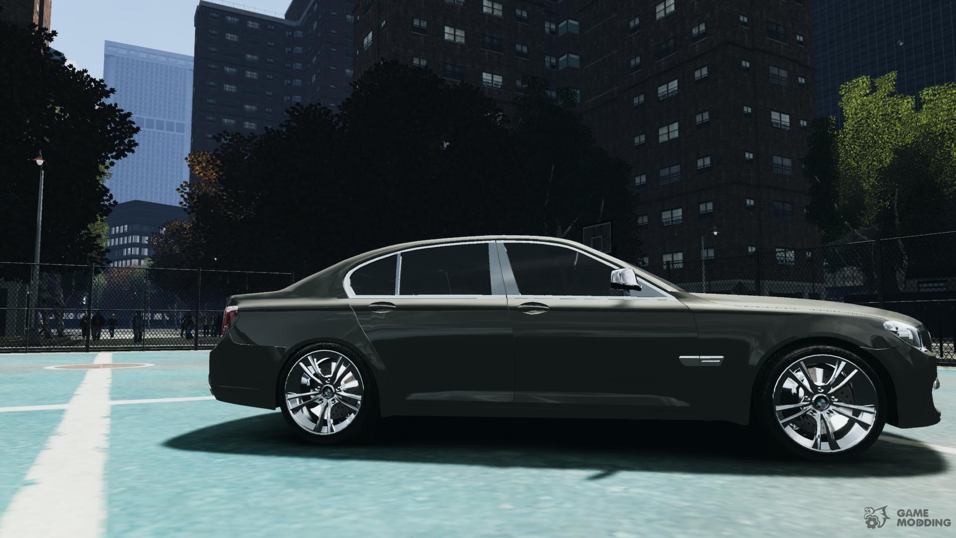 BMW 750i F01 V3 For GTA 4 Inside View