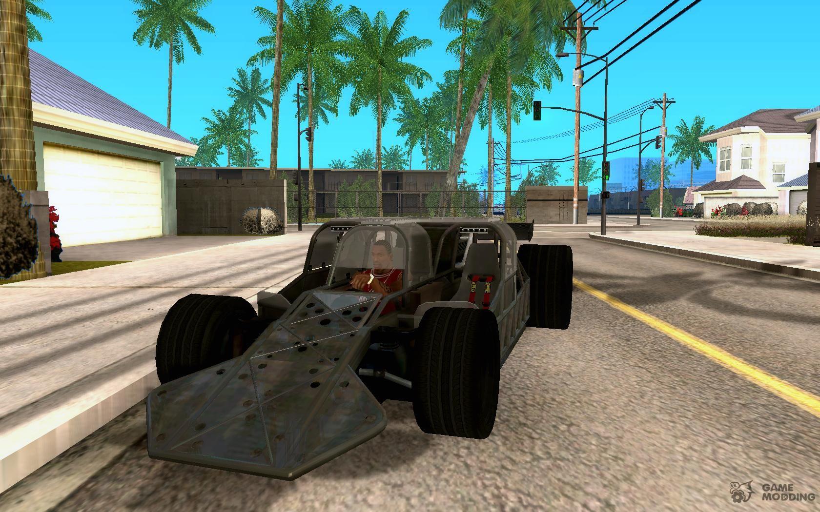 Fast Furious 6 Flipper Car For Gta San Andreas