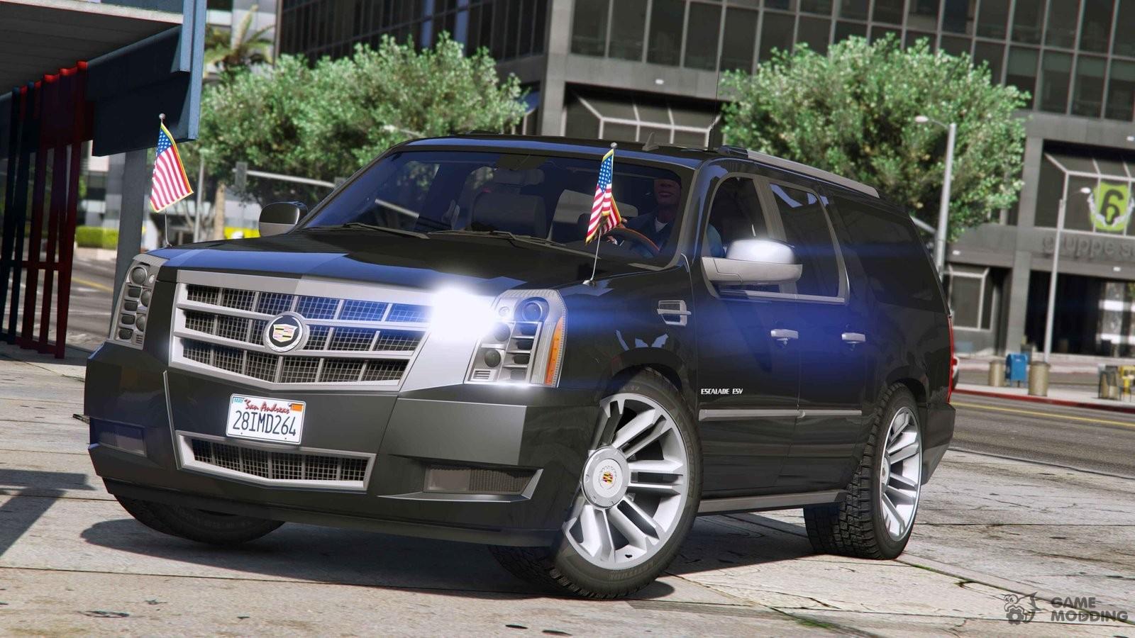 2012 Cadillac Escalade Esv For Gta 5
